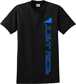 JUST RIDE Supermoto Motard Shirt Motorcycle