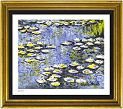 Claude Monet Signed & Hand-numbered Limited Edition Lithograph Print,