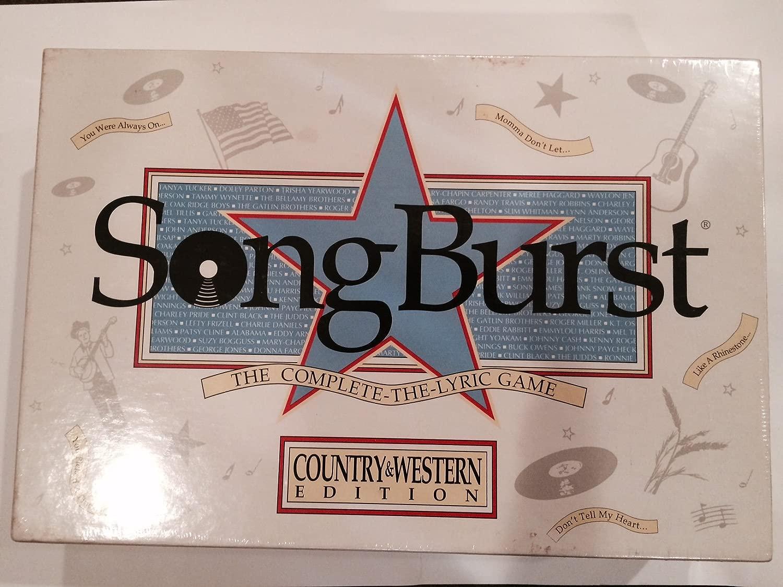 SongBurst Country & Western edizione