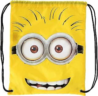 Illumination Entertainment Kids' Minions Drawstring Bag, Yellow
