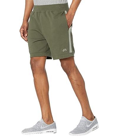 Nike SB SB Y2K Fleece Shorts (Cargo Khaki/Light Army/Light Army) Men
