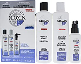 Nioxin System 5 Kit Shampoo Scalp Therapy Conditioner for Unisex - 3 Pc 10.1oz