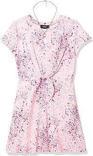 فستان قصير الأكمام بتصميم Amy Byer