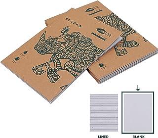 Blocco per appunti in carta riciclata A4 10 pezzi 50 fogli a quadretti A4 Landre 100050296 senza copertina Blocco appuntiRecycling senza copertina