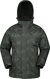 Shadow Mens Printed Ski Jacket - Warm Snow Jacket