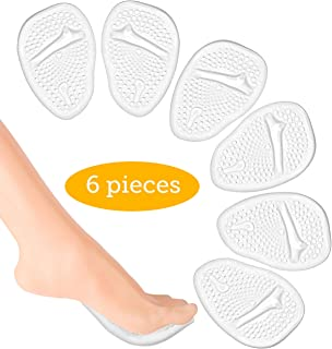 Metatarsal Pads-High Heel Cushion-Forefoot Pad-Non Slip Shoe Inserts-Ball