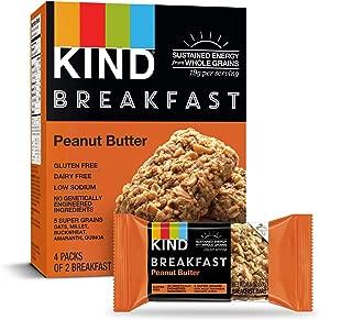 KIND Breakfast Bars, Peanut Butter, Gluten Free, 1.8 Ounce, 32 Count