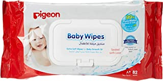 Baby Wipes by Pigeon, 82 pieces, 201000277