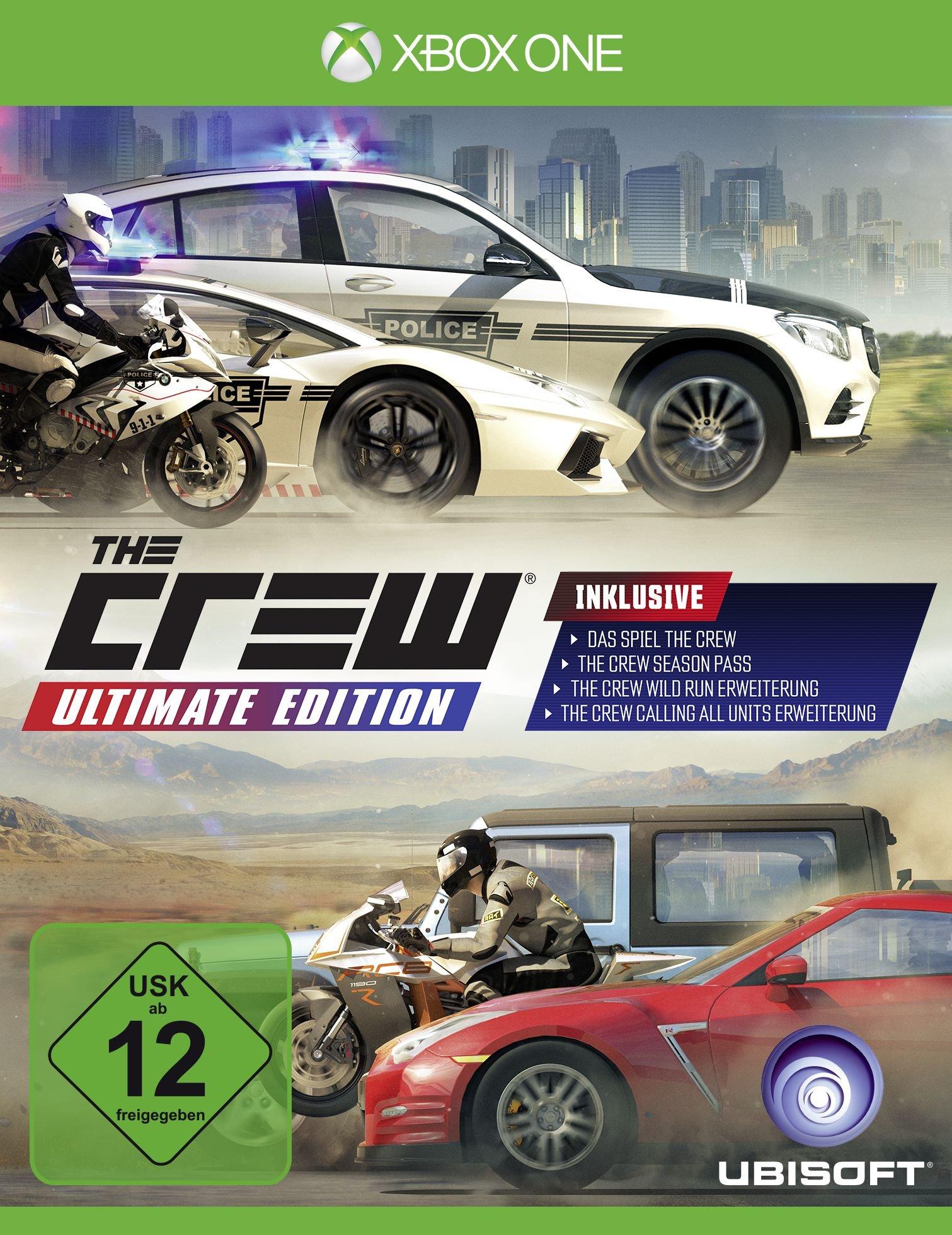 The Crew - Ultimate Edition [Importación Alemana]: Amazon.es: Videojuegos