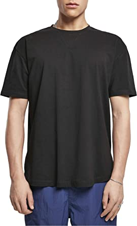 Urban Classics Men's Organic Cotton Curved Oversized Tee T-Shirt
