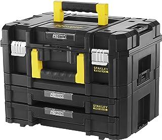 Stanley FatMax FMST1-71981 Gereedschapskoffer, inhoud 21,5 liter, met 2 laden en organizers, voor kleine onderdelen, met m...