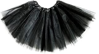 Girl's Classic Elastic 3 Layered Tutu Ballet Soft Tulle Costume Skirt