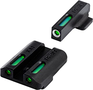 TRUGLO TFX Tritium and Fiber-Optic Xtreme Handgun Sights for Kahr Arms K, MK, P, PM, T&TP Models with New Dovetail (produced after 2004)