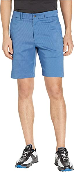 Flat Front Oxford Shorts