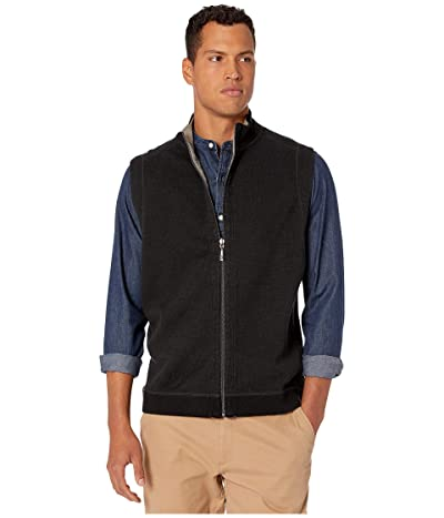 Tommy Bahama New Flipsider Full-Zip Reversible Vest (Midnight Oil) Men