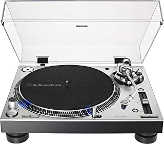 Audio-Technica AT-LP140XP-SV Direct-Drive Professional DJ Tu