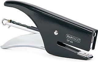 Rapesco 1267 SP-64 niettang (type 64 6/4 mm & 21/4 mm nietjes) achterlaadmechanisme chroom zwart