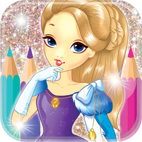 Prinzessin Malbuch
