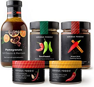 The Serious Foodie Gift Pack – Savory & Spicy Collection