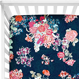 Best navy floral fabric Reviews