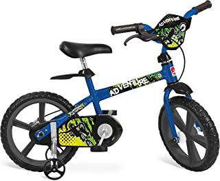 """Bicicleta Aro Adventure Bandeirante Azul 14"""""""