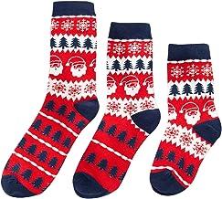 Kerst Familie Bijpassende Sokken Plaid Elk Sneeuwvlok Katoen Sokken voor Ouder- Kind Baby Xmas Sok