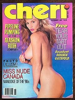 CHERI MAGAZINE NOVEMBER 1989 MISS NUDE CANADA