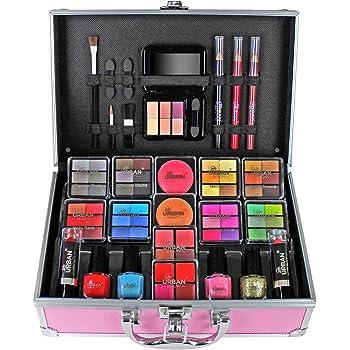 Organizador de maquillaje de belleza para sombra de ojos, belleza urbana adolescente: Amazon.es: Belleza