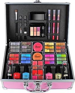 Makeup Beauty Vanity Case Organizer Eyeshadow Delights Love Urban Beauty Teenage Carry Set