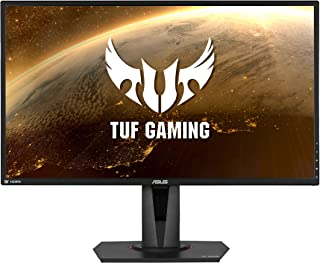 Asus TUF Gaming HDR Gaming Monitor, 27 inch WQHD, IPS, 165 Hz, Extreme Low Motion Blur, Sync G-SYNC Compatible, Adaptive-S...