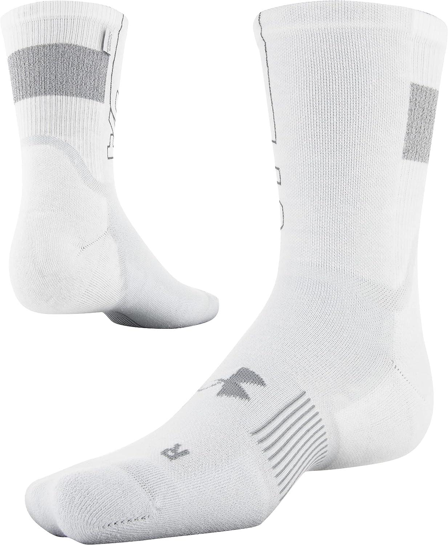Under Armour womens Armour Dry Crew Socks, 1-pair