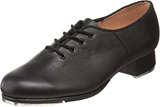 Dance Women's Jazz Full-Sole Leather Tap Shoe