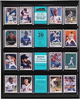 baseball card wall