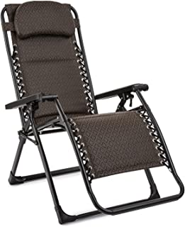 comprar comparacion Blumfeldt California Green Tumbona de jardín - Silla Exterior reclinable, Plegable, Respaldo Acolchado, Reposacabezas Ajus...