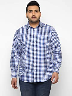 185b2e7b 4XL Men's Casual Shirts: Buy 4XL Men's Casual Shirts online at best ...