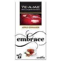 [Pantry] TE-A-ME Apple Cinnamon Herbal Infusion Tea, ICE Tea, Pack of 25 Tea Bags