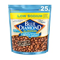 Deals on Blue Diamond Almonds Low Sodium Lightly Salted Snack Nuts 25oz