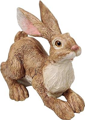 Boulevard East Concepts Bunny Rabbit Statue Sculpture Figurine Decoration – Bunny Lover Gifts, Rabbit Decor