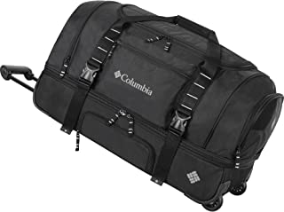 Columbia Wheeled Duffle Travel Bag - 26 Inch Large Rolling Lightweight Luggage Bags for Men