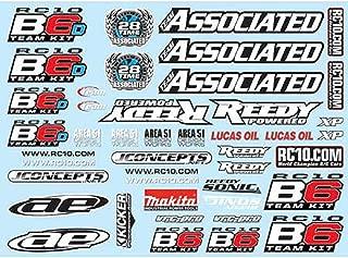 Team Associated 91742 B6 Decal Sheet