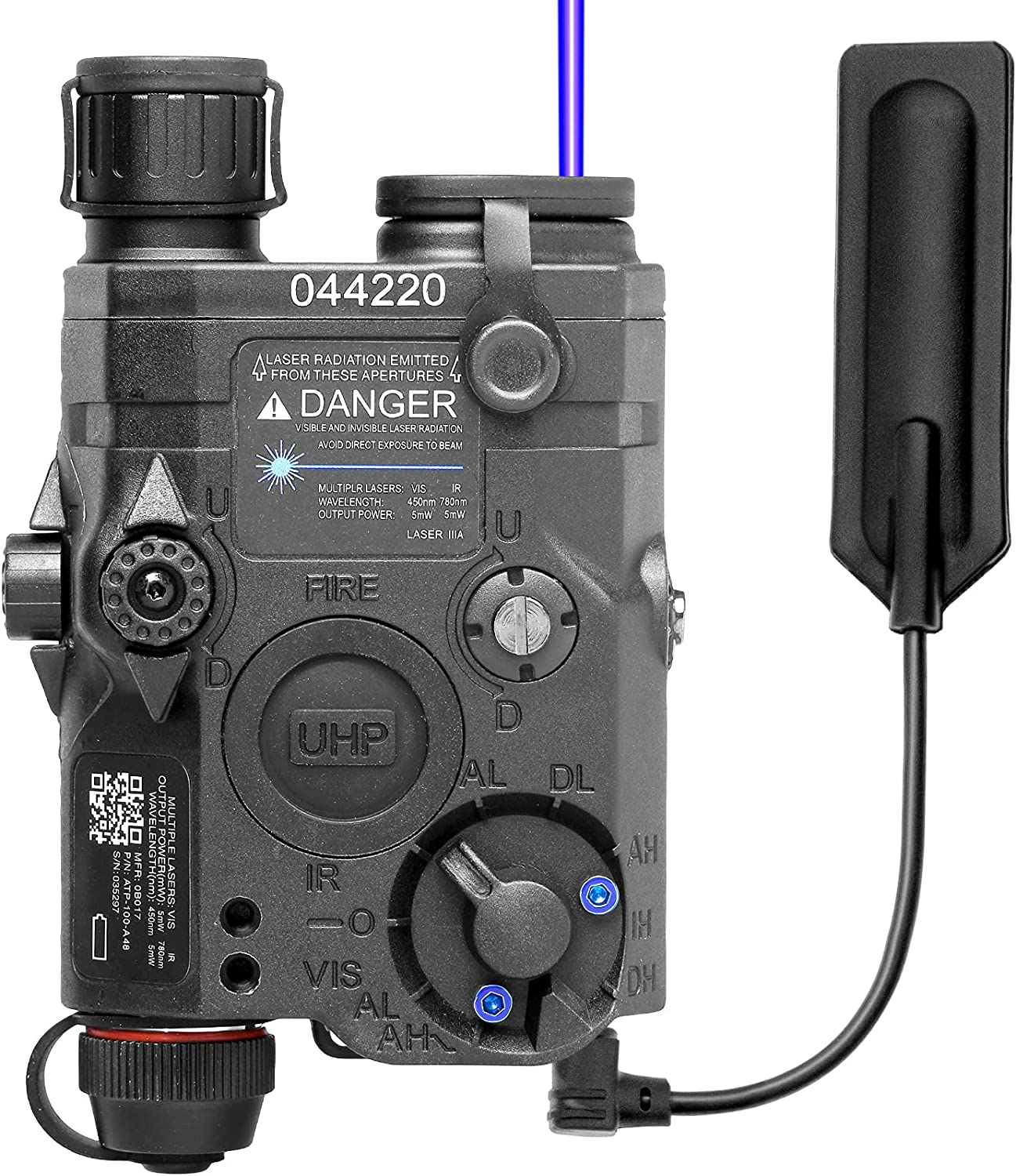 ACTIONUNION Air Soft Laser With LED Flash Light