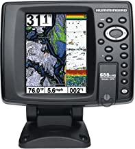 Humminbird 440440-1 688ci HD Internal GPS/Sonar Combo Fishfinder (Black)