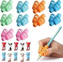 Mr. Pen- Pencil Grips for Kids Handwriting, Pencil Grips, Pack of 10, Pencil Grip, Kids Pencils Grip, School Supplies, Grip Pencils for Kids, School Supplies for Kids, Pencil Holder for Kids, Pen Grip