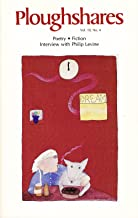 Ploughshares Winter 1984 Guest-Edited by Jane Shore