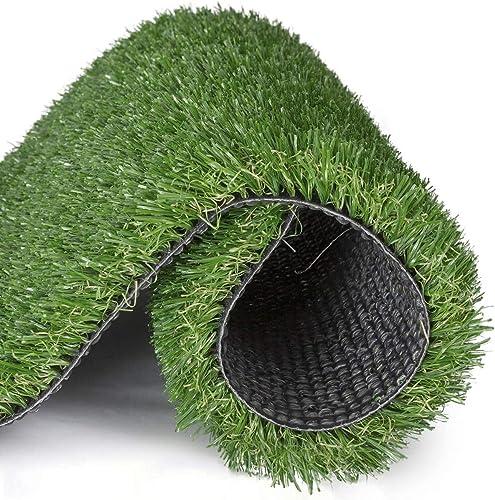 discount Artificial lawn 3.3' x 5' Artificial Grass Indoor outlet online sale Outdoor Landscape Pet Dog Area, 3.3' X online sale 5', Green outlet sale