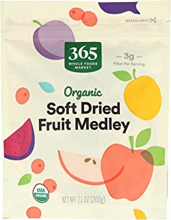 365 by Whole Foods Market, Fruit Medley Soft Dried Organic, 7.1 Ounce