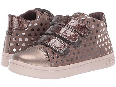 Geox Kids Jr Djrock 36 (Little Kid/Big Kid) (Smoke Grey) Girls Shoes