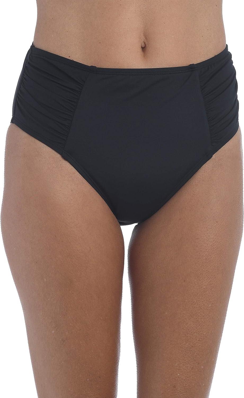 La Blanca Women's Standard Island Goddess High Waist Pant Bikini Swimsuit Bottom
