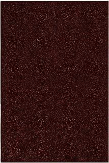 Best chocolate brown throw rug Reviews