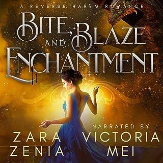 Bite, Blaze, and Enchantment: A Reverse Harem Romance: Vampire Dragon Shifter Reverse Harem, Book 3